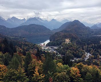 Neushwanstein View