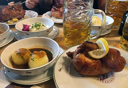 Oktoberfest food 2